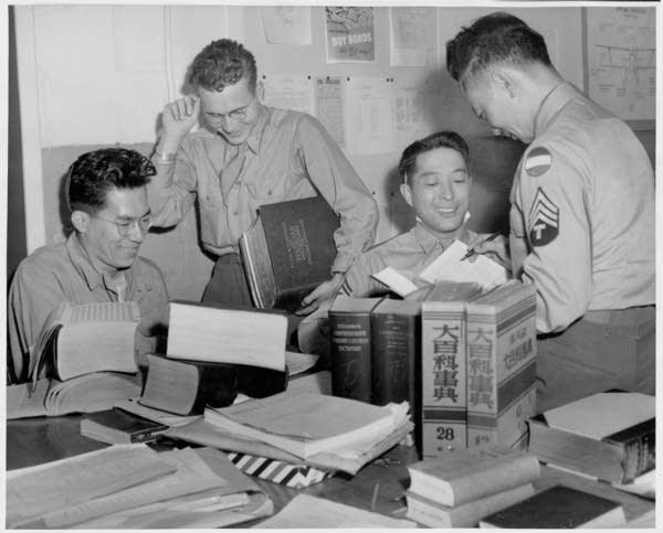 Japanese-American translators at Fort Snelling