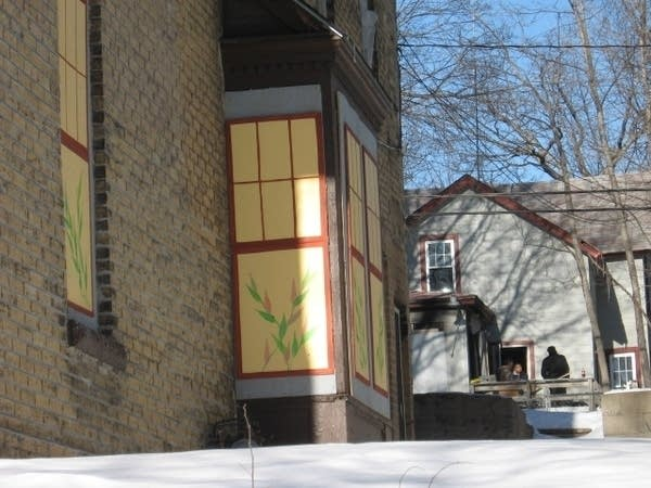 Painted boarded properties