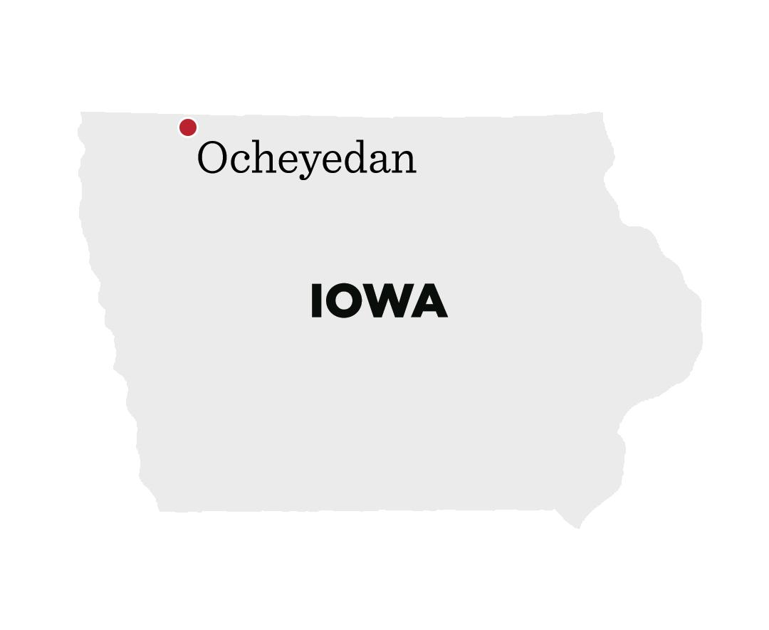 Ocheyedan, Iowa