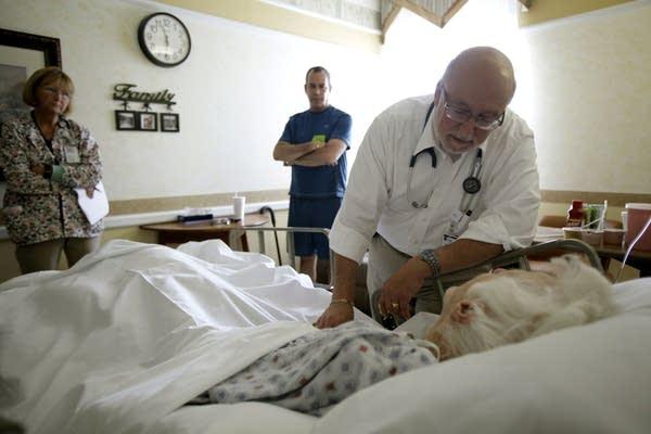 Dr. Joel Policzer, Lillian Landry