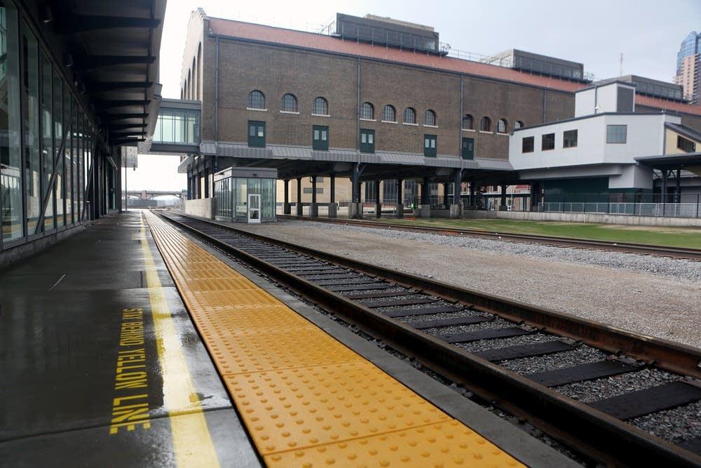 Amtrak platform
