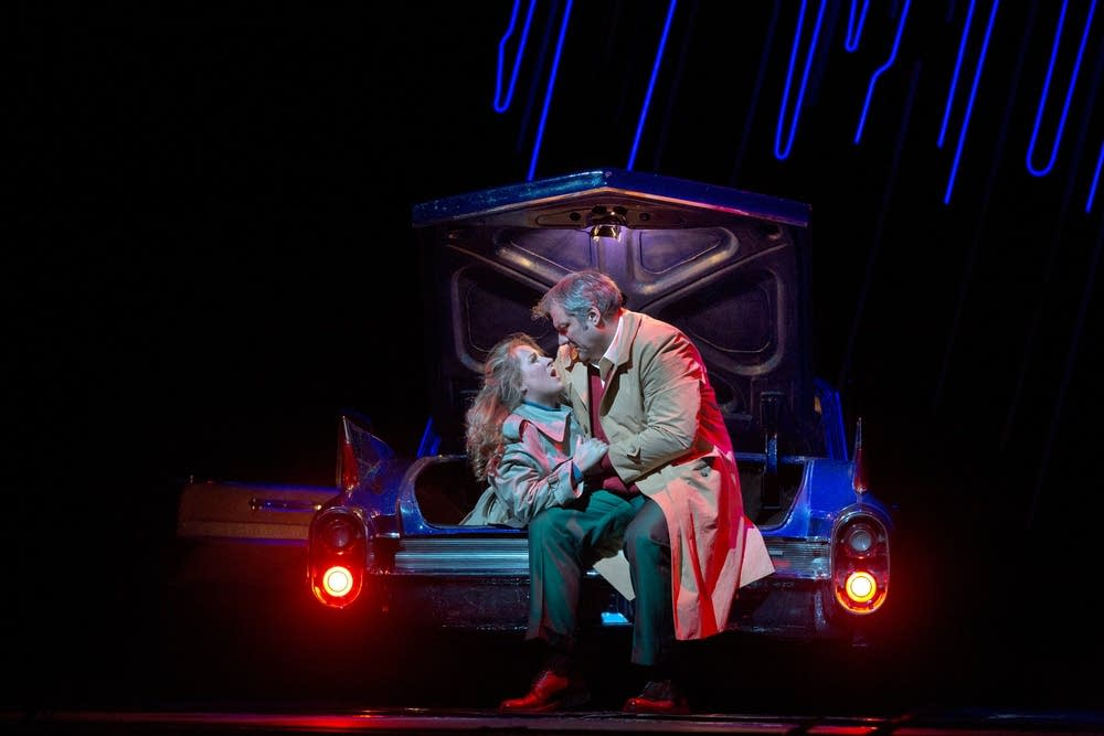 Damrau as Gilda and Lucic as Rigoletto