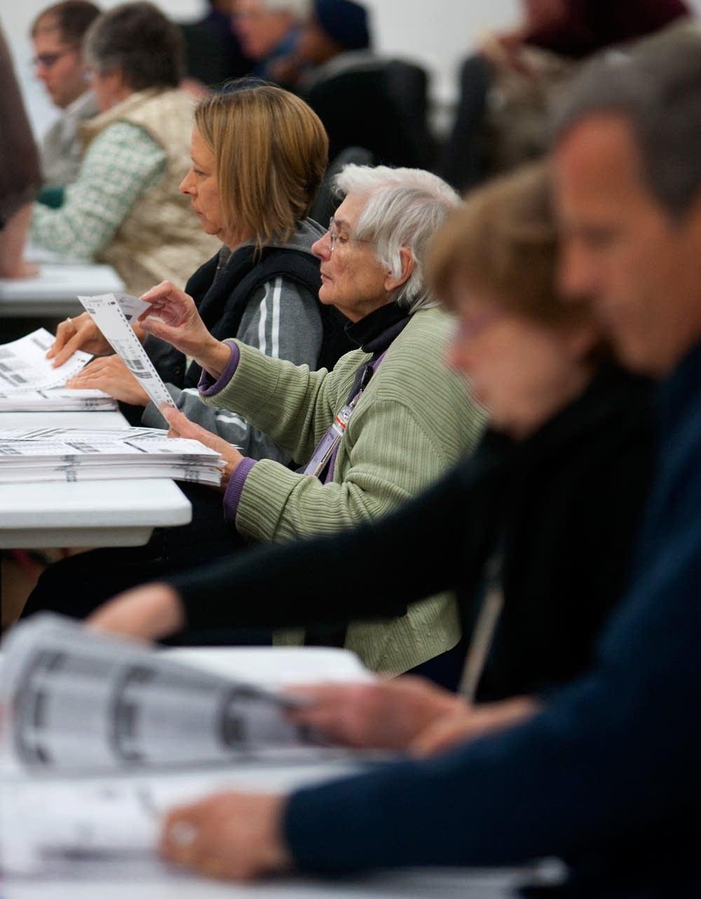 Counting IRV ballots