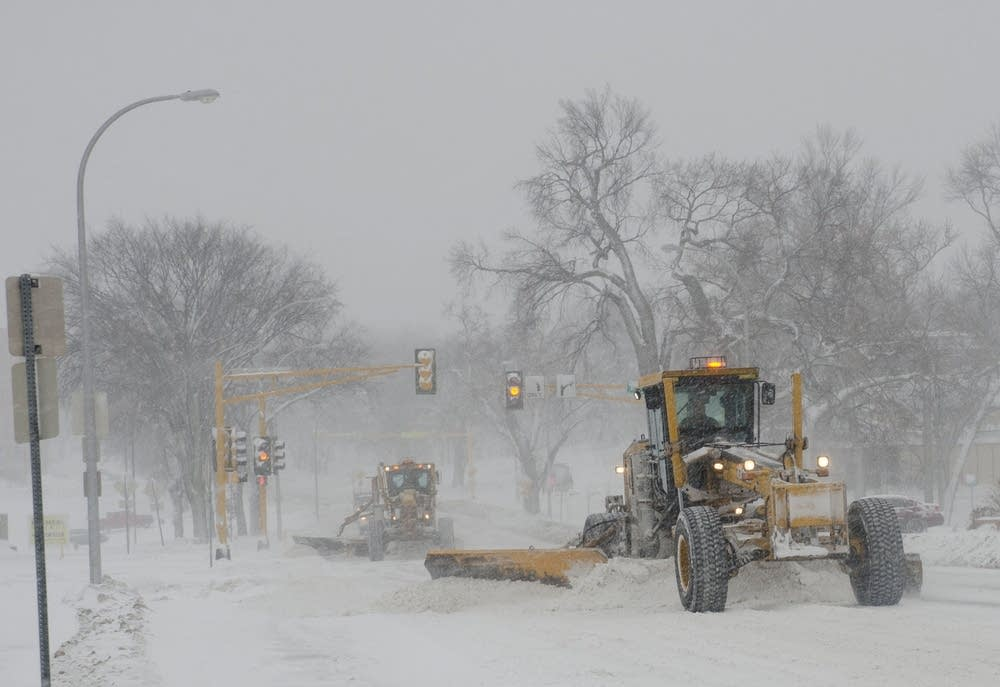 Plowing in Fargo