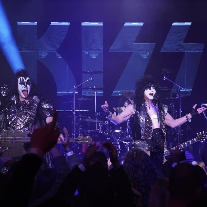 KISS perform on 'The Tonight Show Starring Jimmy Fallon'