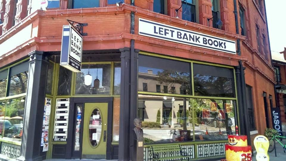 Left Bank Books in St. Louis, Mo.