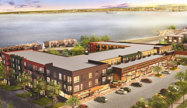 Harbor Bay development