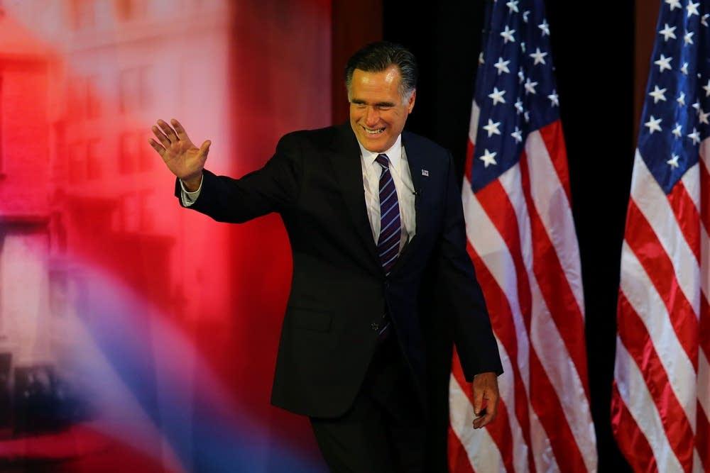Romney concedes