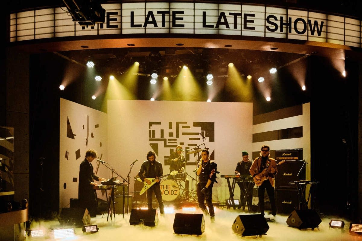 The Voidz perform on 'The Late Late Show with James Corden'