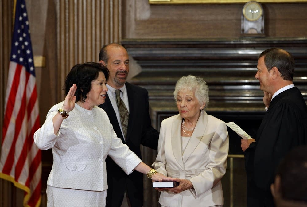 Sotomayor sworn in