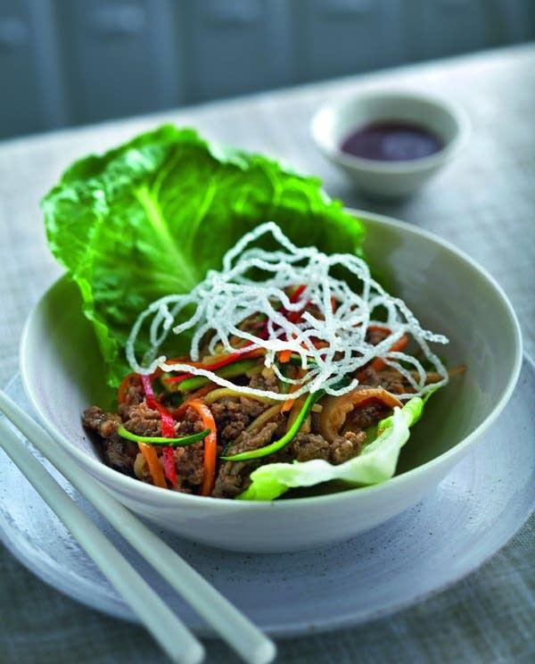 Stir-fried Minced Pork