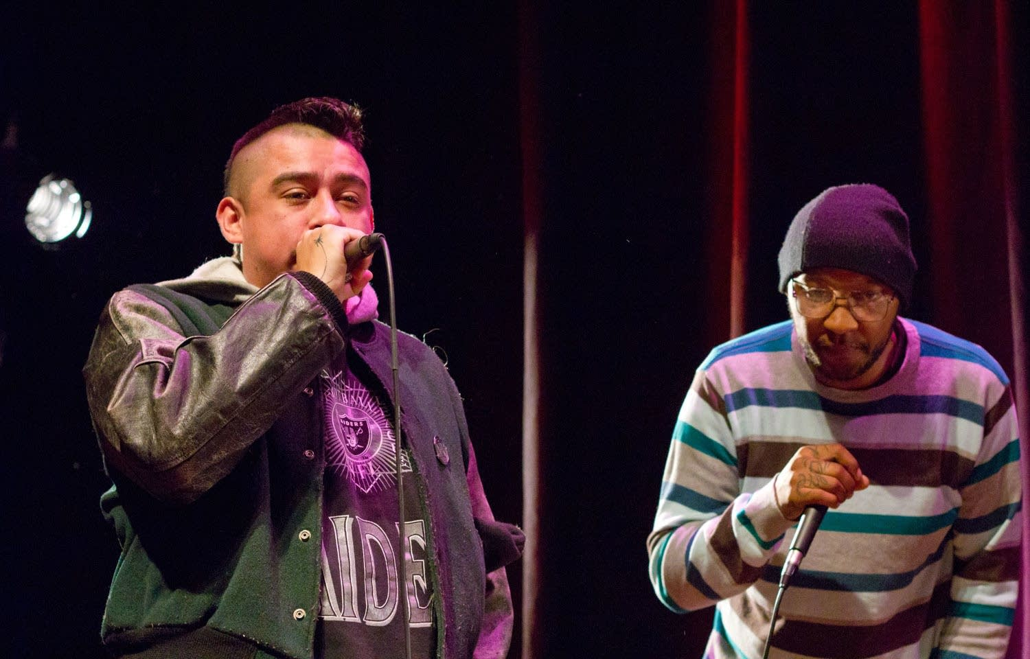 Mike Mictlan and P.O.S.