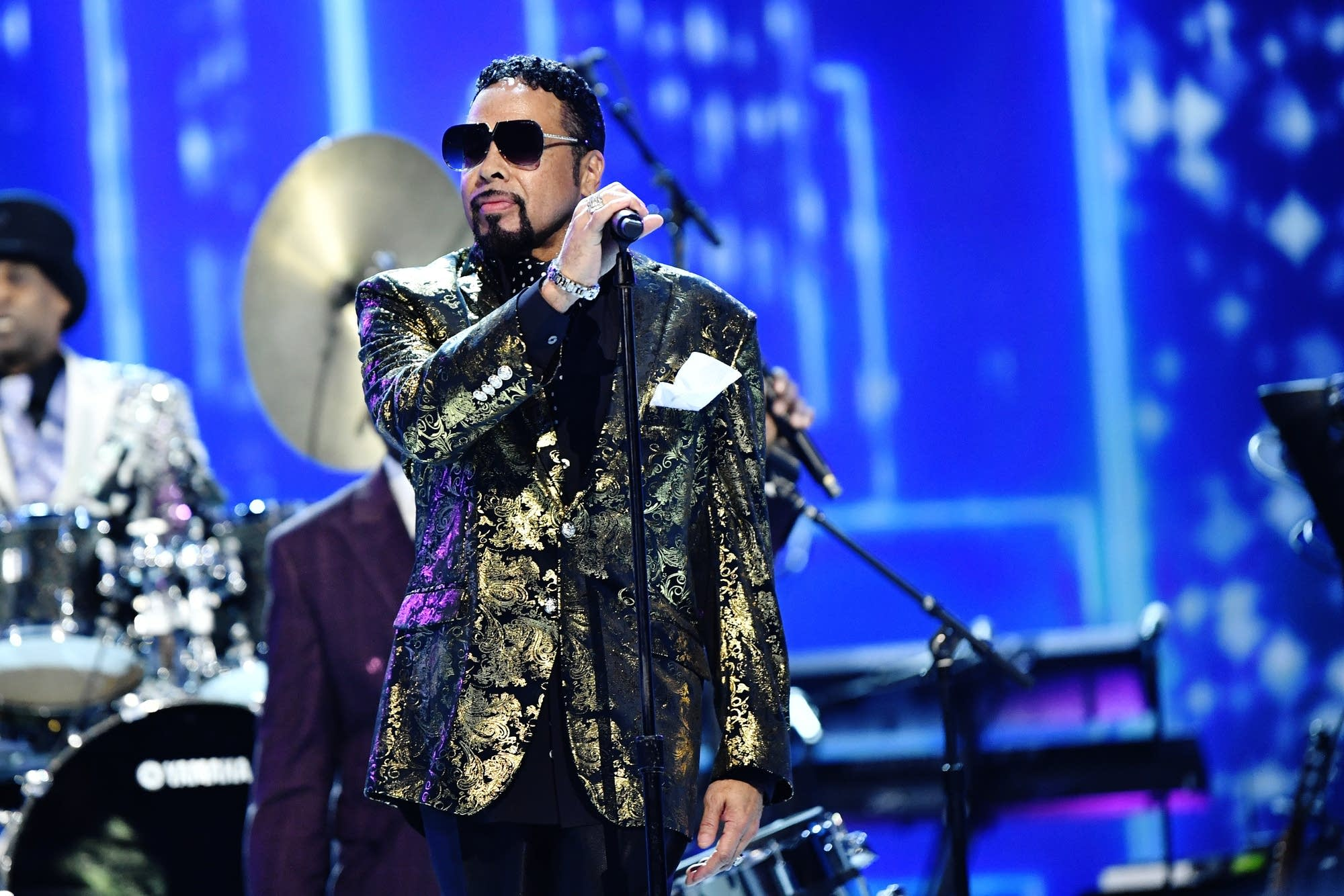 Morris Day and the Time performing in 2020