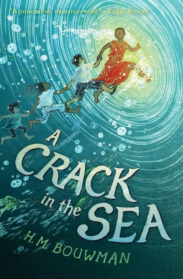 Jacket cover for 'A Crack in the Sea' by Heather Bouwman.