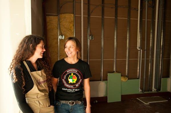 Lisa Weiskopf and Simone Senogles