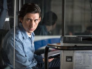 Adam Driver as Paterson the bus driver