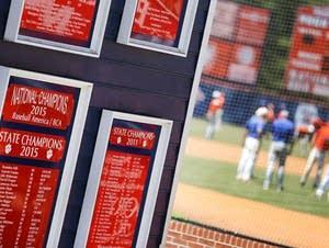 Parkview High School baseball team