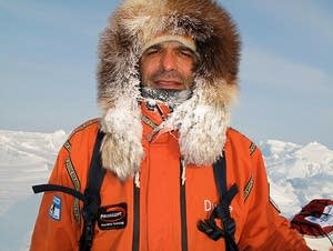 Arctic explorer Lonnie Dupre