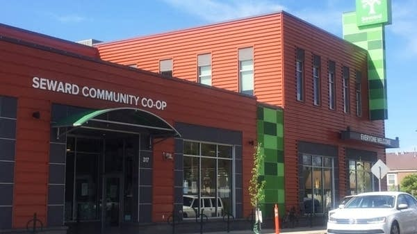 A view of the facade of Seward Community Co-Op