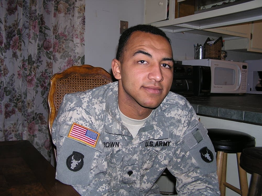National  Guard Soldier Greg Brown