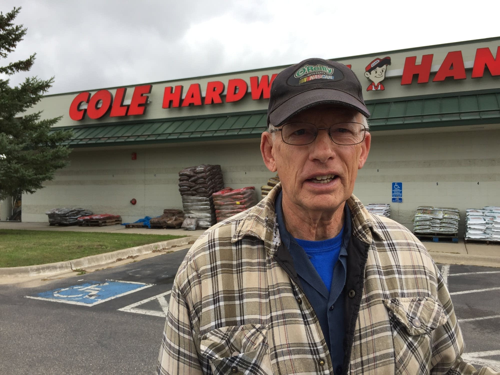 74-year-old Everette Kingsley, from nearby Hill City.
