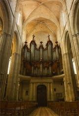 1774 Isnard organ at the Basilica of St. Mary Magdalene, Saint Maximin-la-Sainte-Baume