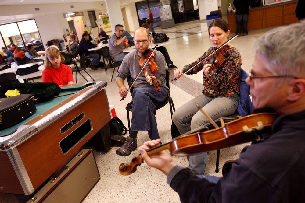 Violin Repair Program students