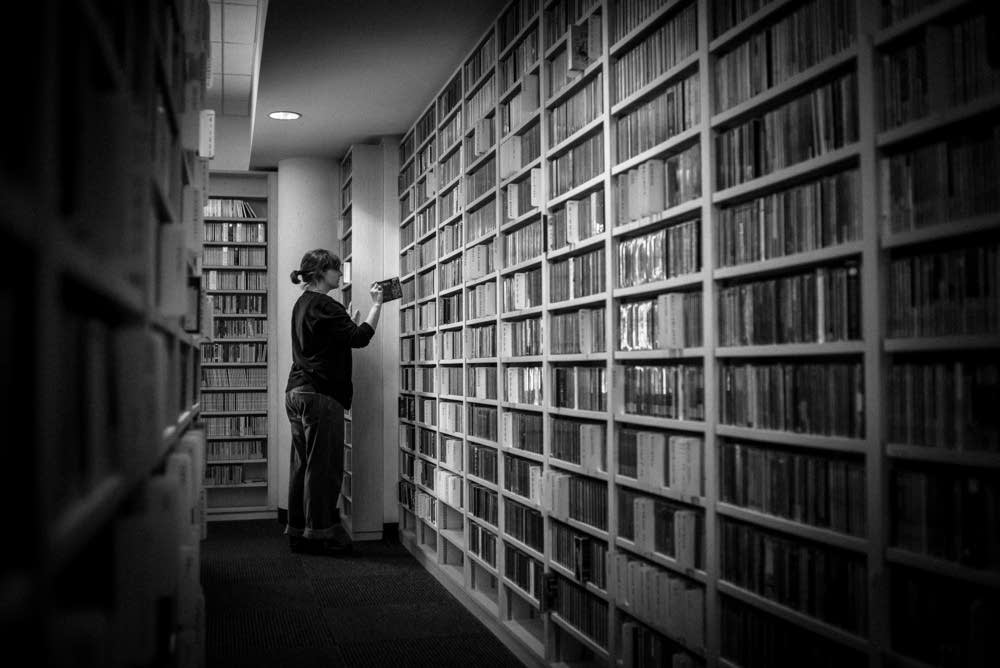 Inside the Music Library