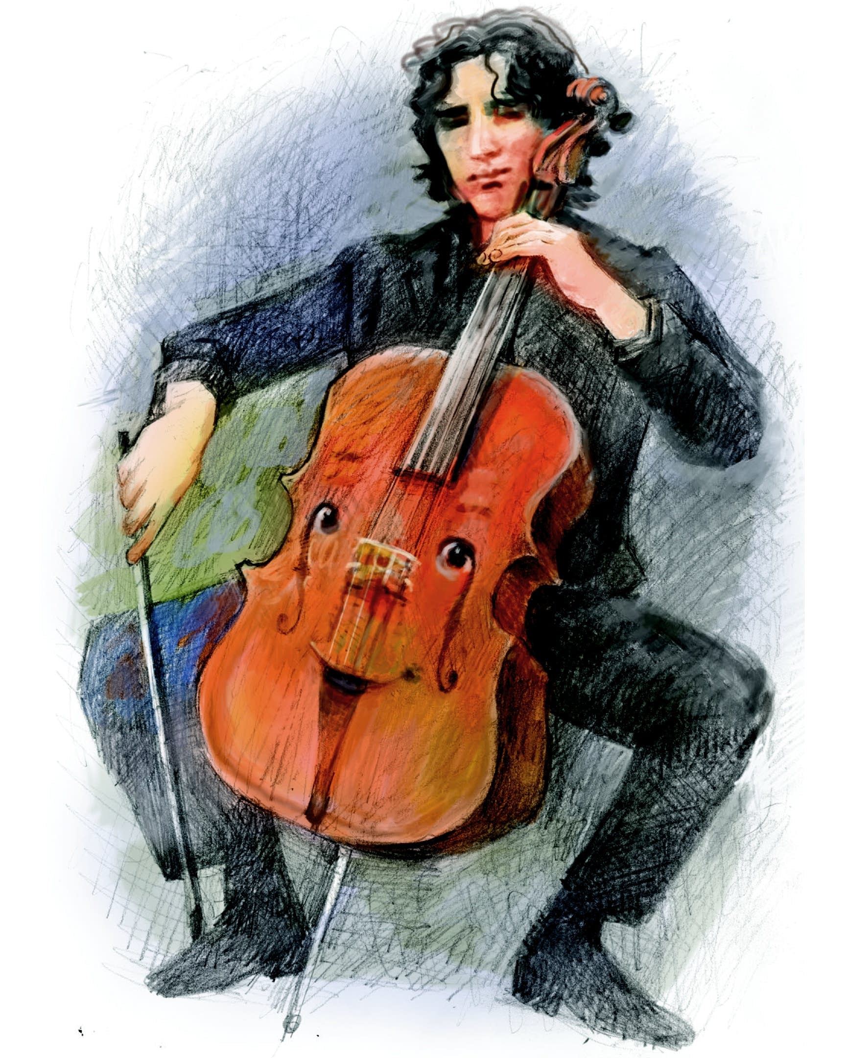 """Amit Peled plays cello in """"A Cello Named Pablo."""""""