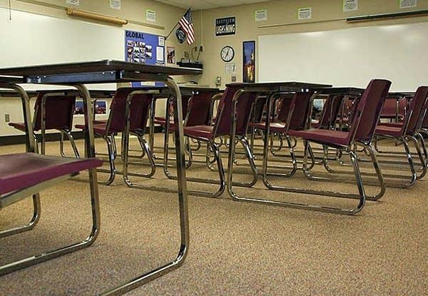 Eastview High classroom