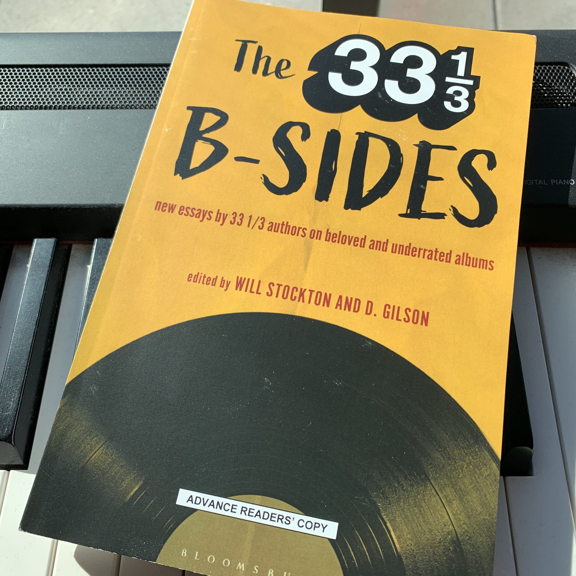 'The 33 1/3 B-Sides,' edited by Will Stockton and D. Gilson.