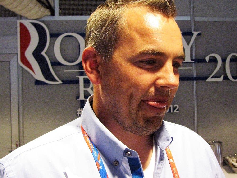 Convention delegate Jeremy Litster