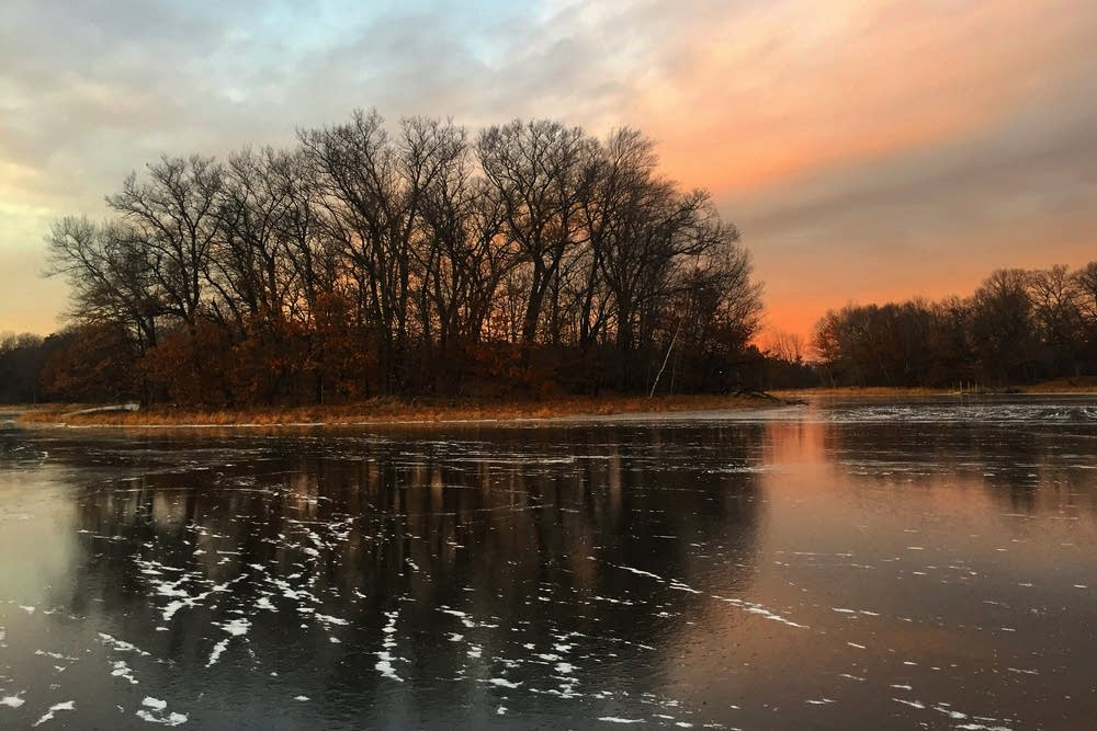 Long Lake in Stillwater, Minn.