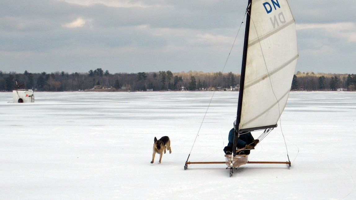 When conditions are right, Blessing sails.
