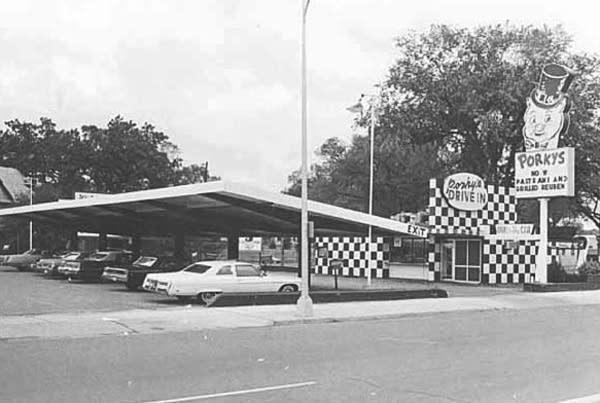 Porky's drive-in