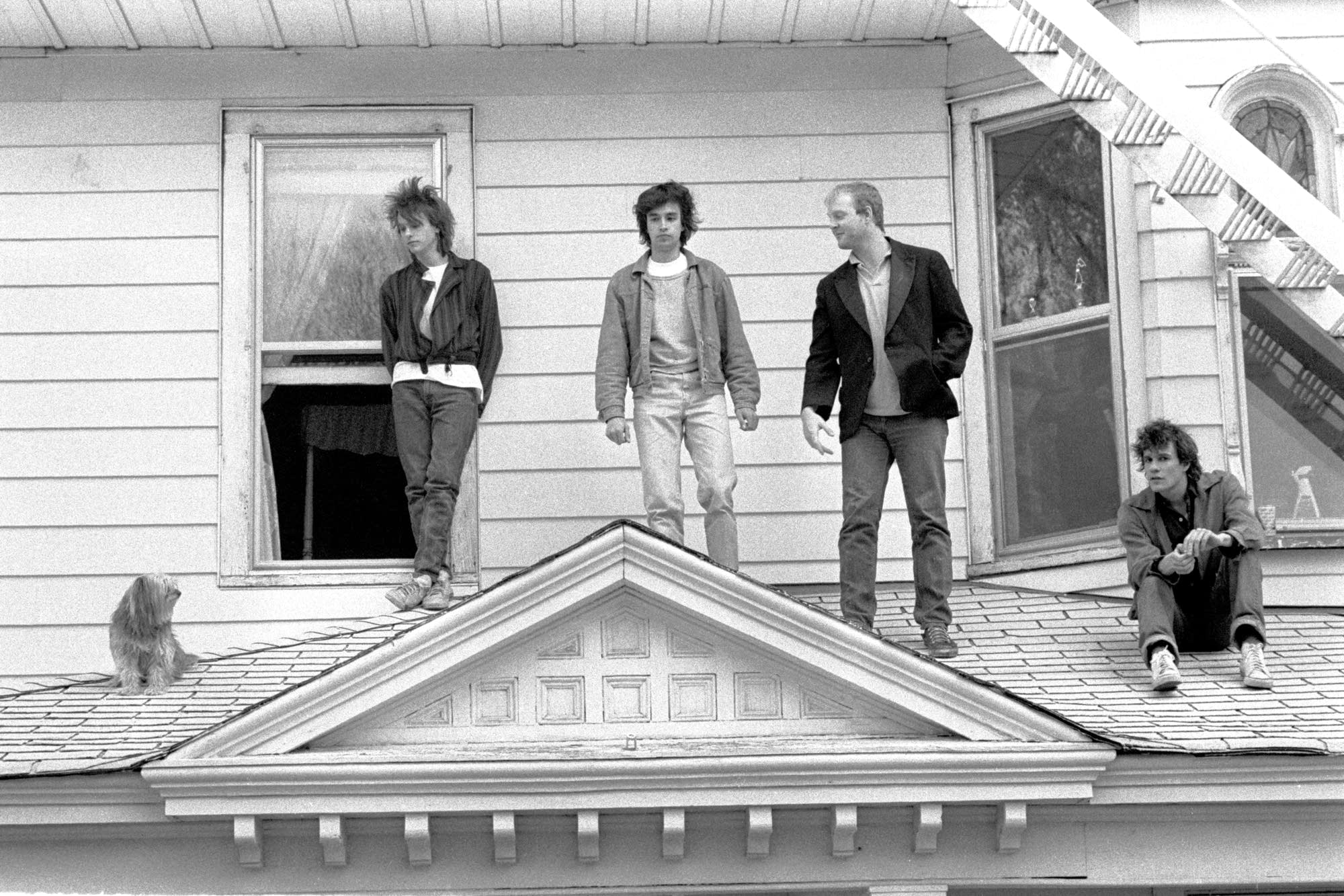 Replacements 'Let It Be' cover shoot