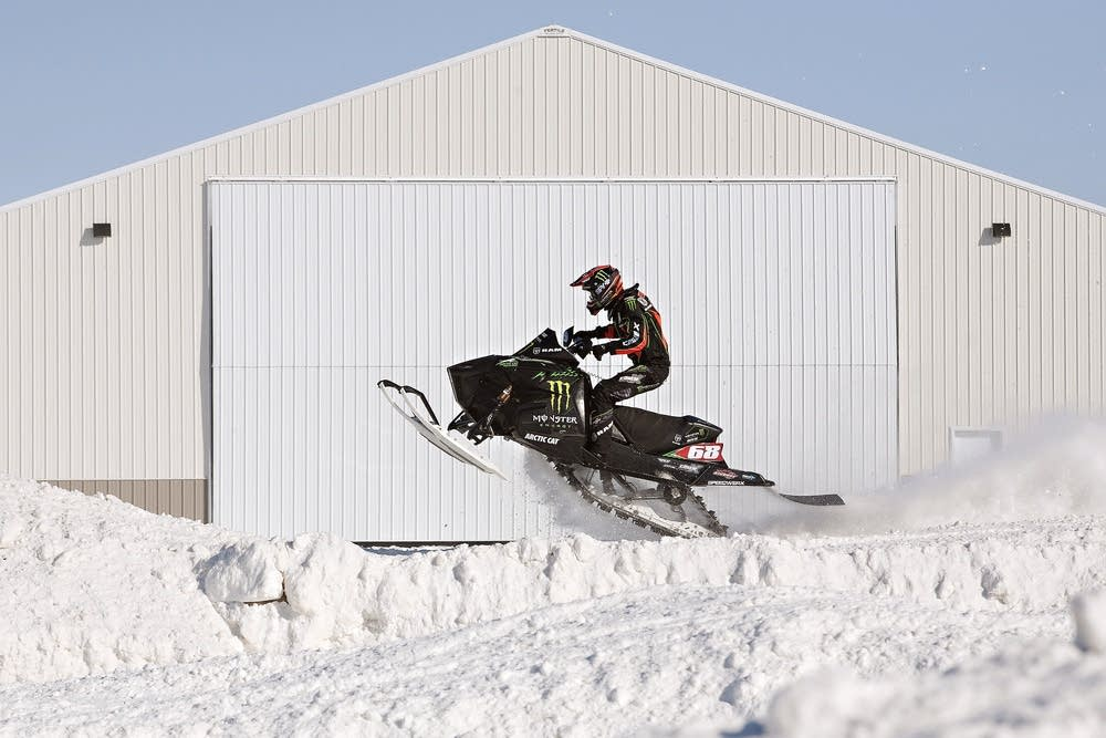 Snocross king Tucker Hibbert keeps racing and life in control