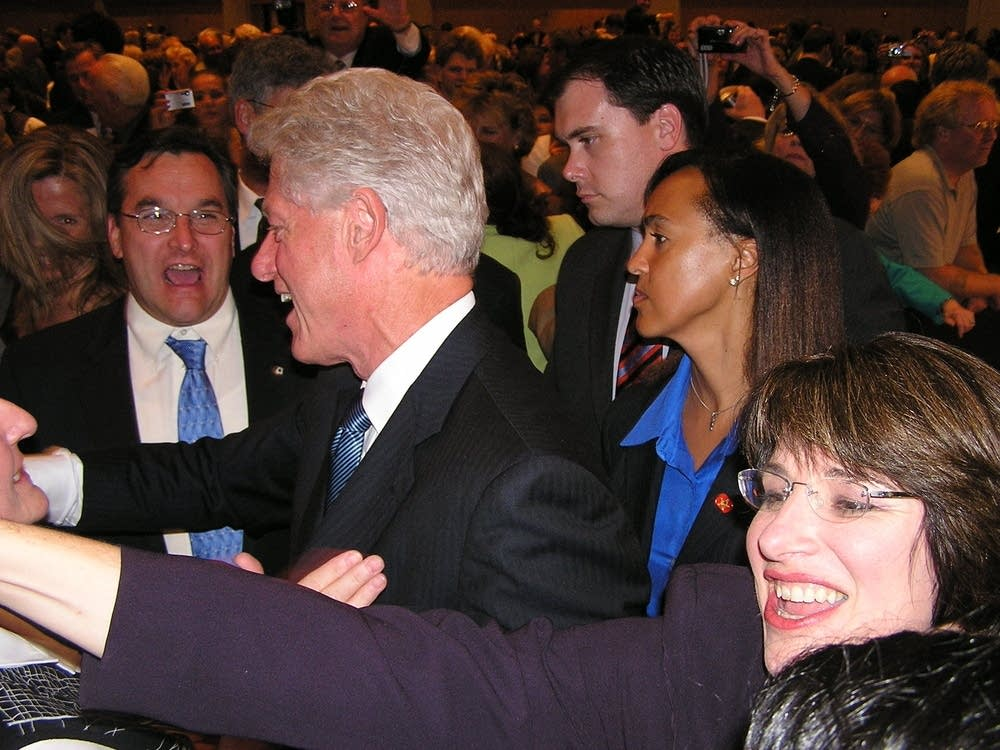 A crush for Clinton