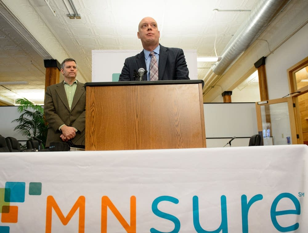 MNsure CEO Scott Leitz