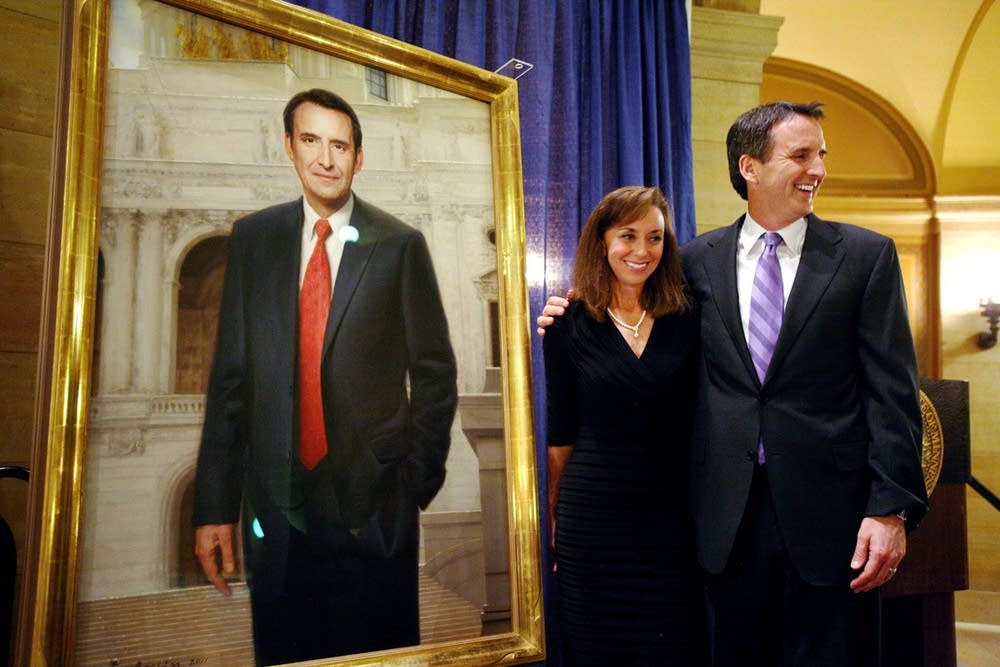 Gov. Tim Pawlenty and Mary Pawlenty