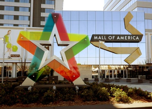 The Mall of America built a new main entrance.