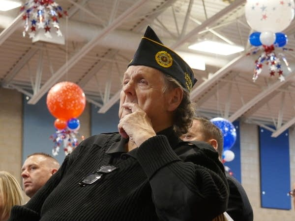 Veterans Day ceremony in Inver Grove Heights
