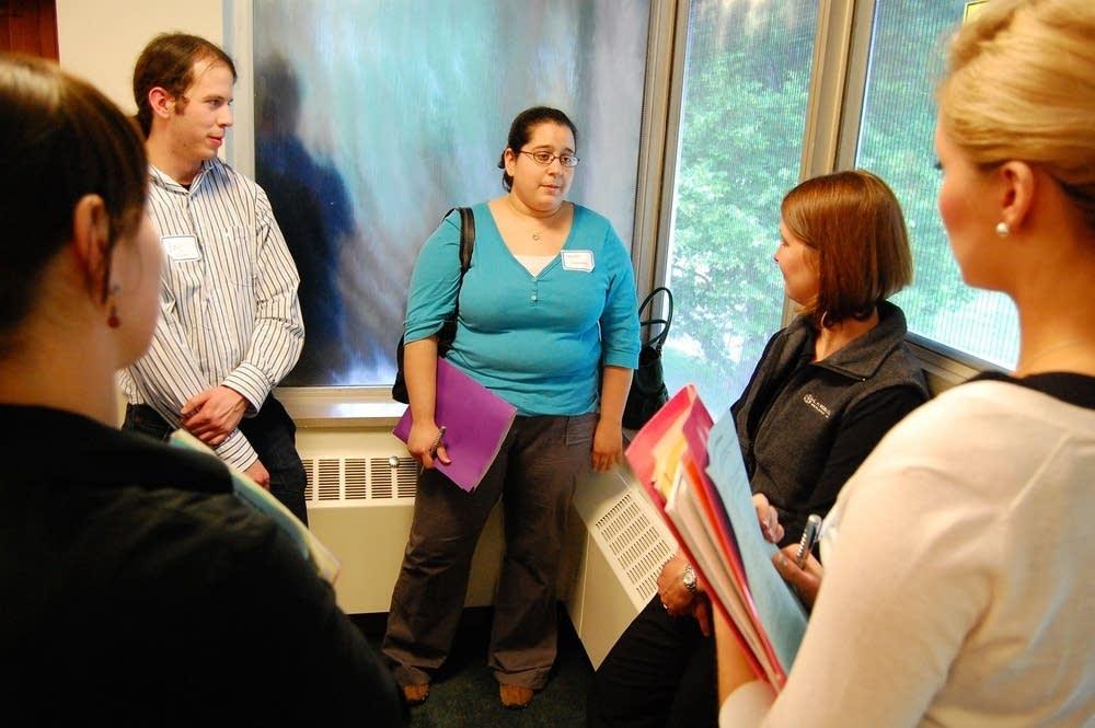 Elevator speech practice