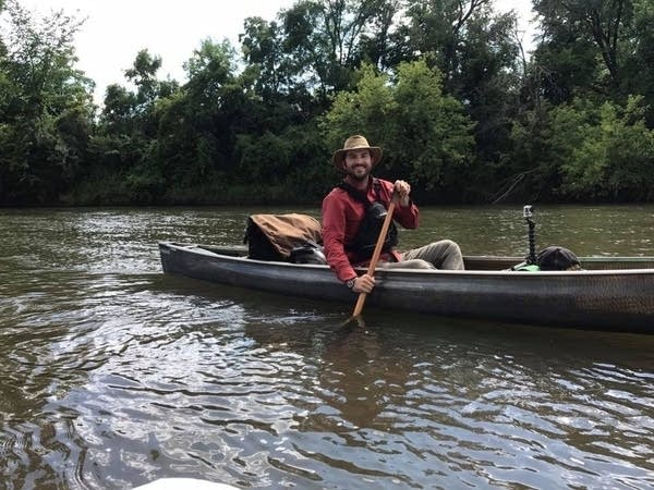 Jay Gustafson is paddling all Minnesota's water trails