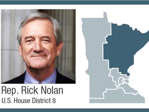 Rep. Rick Nolan, U.S. House District 8