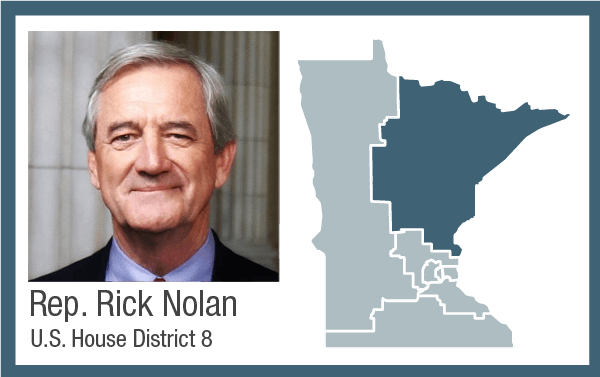 Rep. Rick Nolan, U.S. House District 8