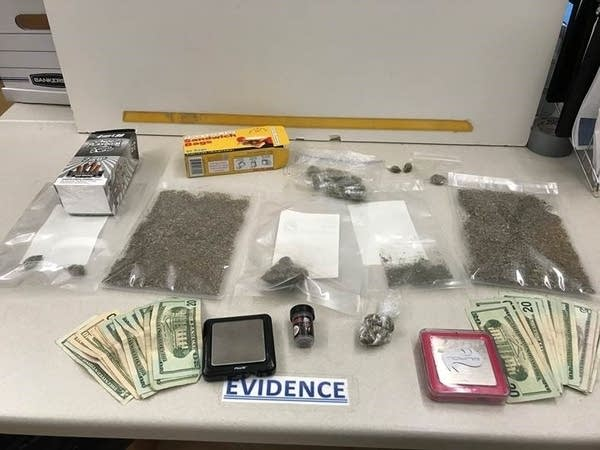 Authorities say they're seeing some big drug seizures.