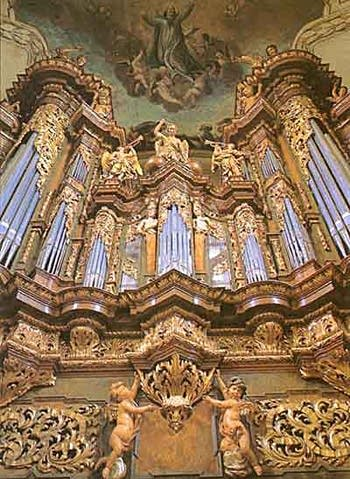 1991 Rieger-Kloss organ at Saint James Church