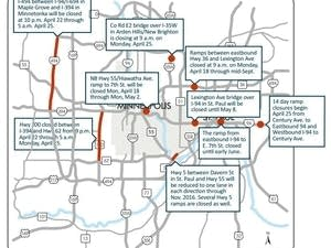 Weekend construction traffic impact
