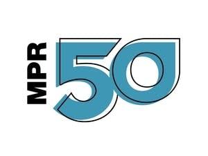 MPR 50th anniversary logos